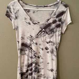 Calvin Klein short sleeve abstract design t shirt